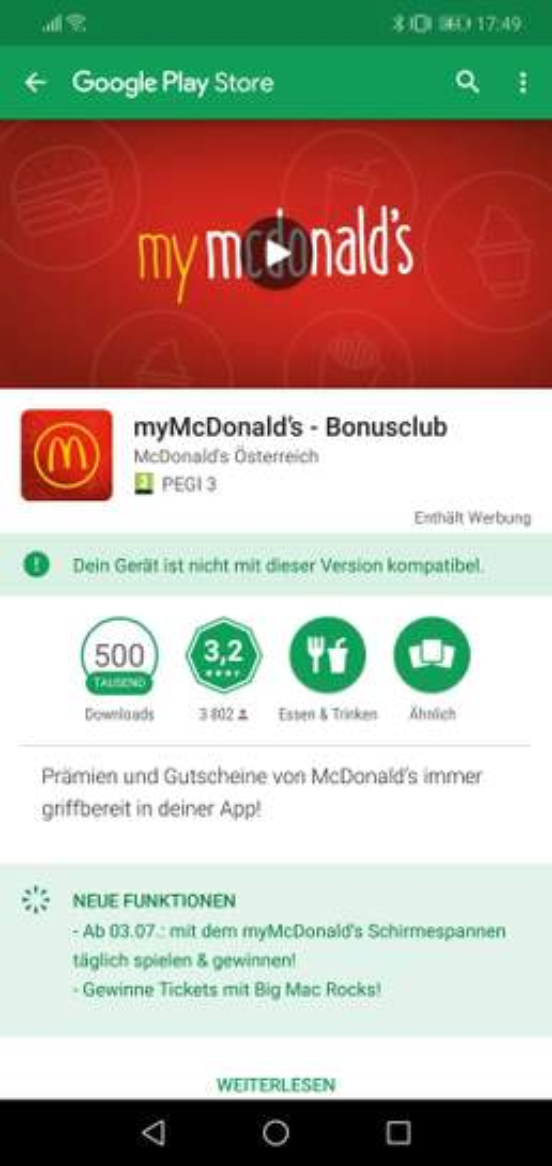 Mc Donalds Hack App klonen & GRATIS essen! Preisjäger