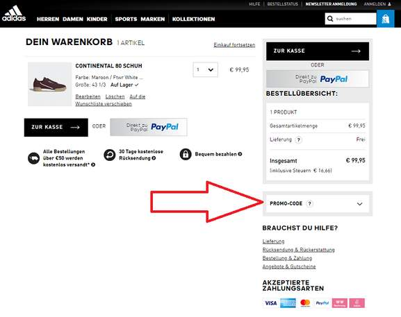 adidas Online Shop Gutschein ⇒ 20% Rabatt, September 2019 ...