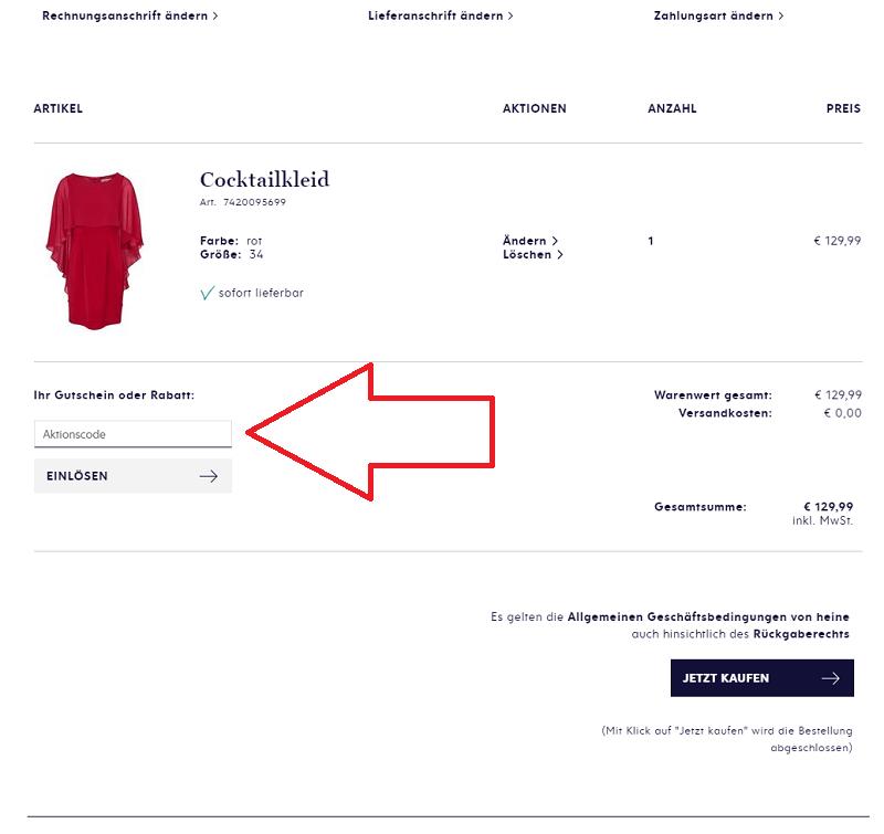 on sale 09efa 9c8e5 Heine Gutschein ⇒ 15% Rabatt, Oktober 2019 - Preisjäger