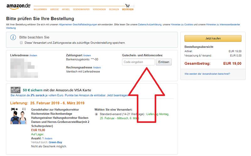 Neukunde Gutschein Amazon