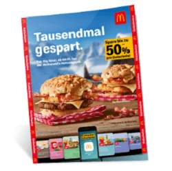 McDonald's Bonusbuch Gutscheine