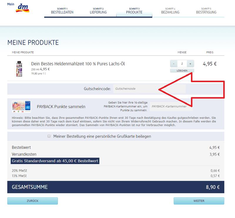 Dm Drogerie Online Shop Gutschein