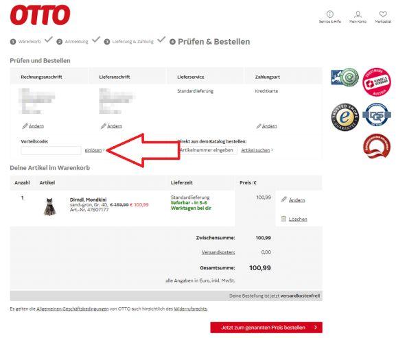 Otto Versand Gutschein 25 Rabatt Juni 2021 4 Angebote Preisjaeger At
