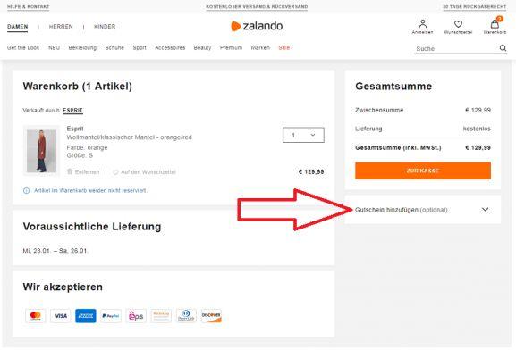15% Zalando Gutschein + 70% Rabatt im Februar 2020