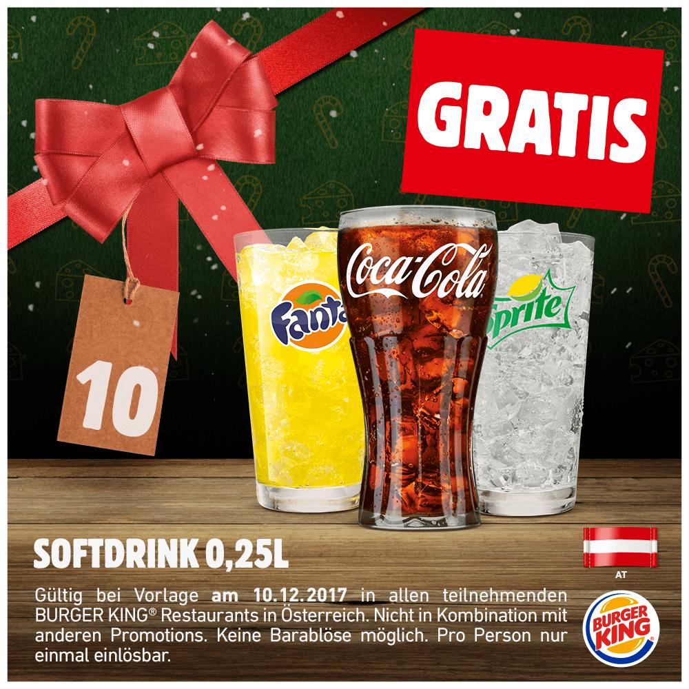 gratis kaffee burger king