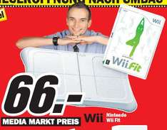 [Games] Wii Fit für 66€ im Media Markt Cottbus