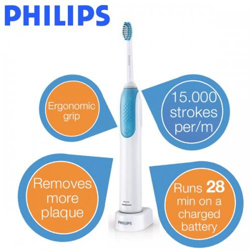 Schallzahnbürste Philips Sonicare PowerUp HX3120/09 für 25,90 € - 17% sparen