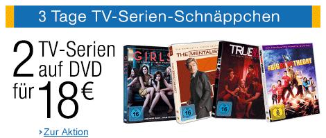 3 Tage TV-Serien-Schnäppchen bei Amazon - bis 22. April