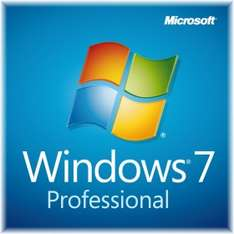 Microsoft Windows 7 Professional Download Lizenz - 32 / 64 Bit ESD für 29 € - 67% Ersparnis