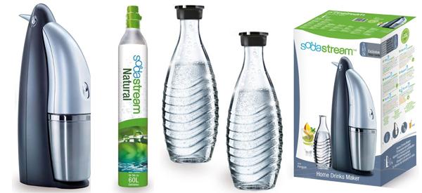 Wassersprudler SodaStream Penguin für 94,50 € - 18% Ersparnis