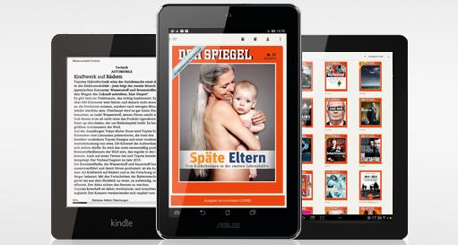 Der Spiegel: Eine digitale Ausgabe kostenlos für Android-Nutzer