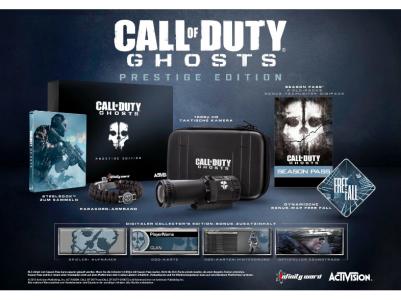 Call of Duty: Ghosts - Prestige Edition (XBox 360 + PS3) inkl 1080p HD Taktische Kamera um 77 € -  bis zu 40% sparen