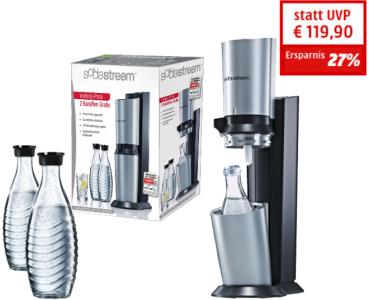 SodaStream Trinkwassersprudler Crystal Megapack um 88 € - bis zu 27 % sparen