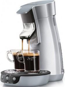 Philips HD7828/50 Senseo Kaffeepadmaschine in silber um 71,95 € - 10% sparen