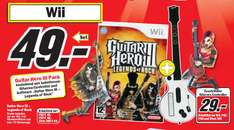 [PS3,Wii,X360,PS2] Guitar Hero Bundle für alle Konsolen für 49€