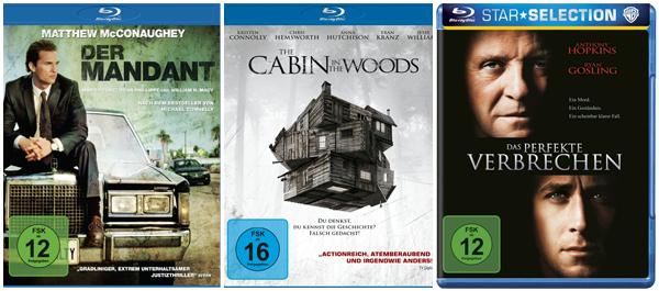 3 Blu-rays für zusammen 20 € bei Amazon