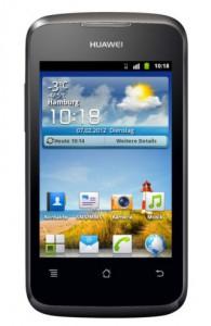 Huawei Ascend Y200 Einsteiger-Smartphone (Android 2.3, WLAN, 3,5 Zoll, GPS) um 44,44 € - 24 % sparen