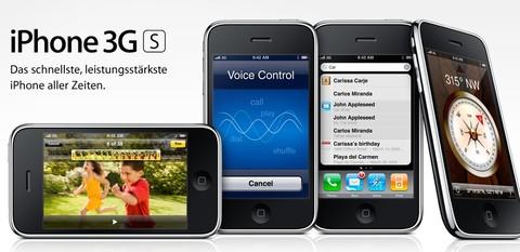 Das neue iPhone 3G S mit Vertrag! Günstiger geht's nicht...