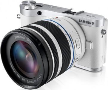 Systemkamera Samsung NX300 + 18-55 mm-Objekt um 299 € - 26% Ersparnis