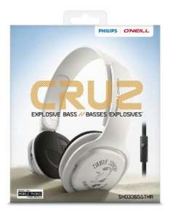 """Philips """"Cruz"""" On-Ear-Kopfhörer mit Headsetfunktion um 18 € - bis zu 48% sparen"""