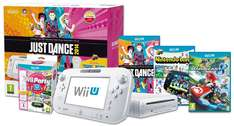 Wii U Basic Pack (8GB) + Just Dance 2014 + Nintendo Land + Wii Party U + Mario Kart 8 + weiteres Spiel für 252 €