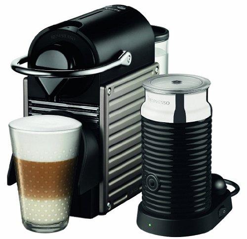 Krups Nespresso Pixie XN301T + Aeroccino 3 + 80 € Kapselguthaben für 129 €