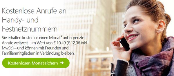 Skype Welt einen Monat gratis nutzen - weltweit unbegrenzt telefonieren *Update*