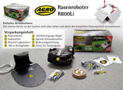Agro R800Li Rasenroboter um 799 € - 20% sparen