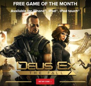Deus Ex: The Fall (iOS) völlig kostenlos - 5,99 € sparen