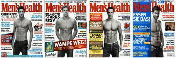 Top! Men's Health ein Jahr lang für effektiv 4 € lesen - mit BestChoice-Gutschein