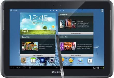 Samsung Galaxy Note 10.1 (16GB, 3G) um 299 € - bis zu 16% sparen