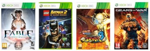 Saturn Tagesdeal: Xbox 360 Games zu sehr guten Preisen - bis zu 84% sparen