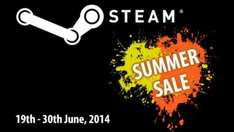 Steam Summer Sale 2014 - bis zu 90% sparen