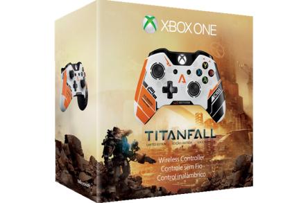 Xbox One Wireless Controller (Titanfall Limited Edition) für XBox One oder PC um 37 € - bis zu 31% sparen
