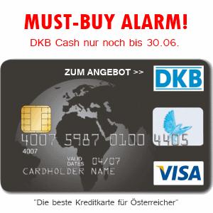 Letzte Chance: DKB Cash + gratis Kreditkarte nur noch bis Ende Juni verfügbar!