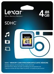 Lexar SDHC 4GB (Class 4) Speicherkarte um 2 € - bis zu 62% sparen