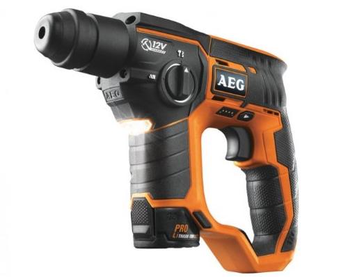 AEG Akku-Bohrhammer BBH-12 mit 2. Akku für 155,90 € - 30% Ersparnis