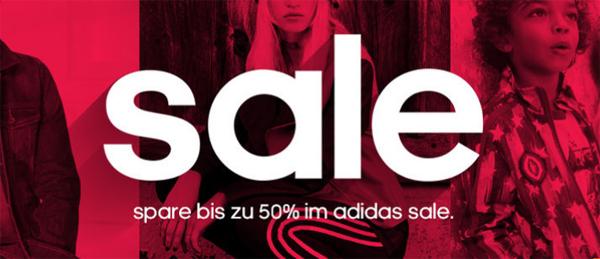 Sale bei Adidas mit bis zu 50% Rabatt auf ausgewählte Artikel