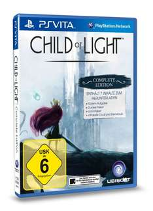 Child of Light: Complete Edition (PS Vita) um 15,68 € - bis zu 35% sparen