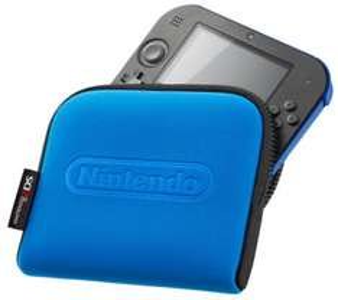 Top! Nintendo 2DS Schutzhülle in rot oder blau um 1 € + gratis Versand - 90% sparen
