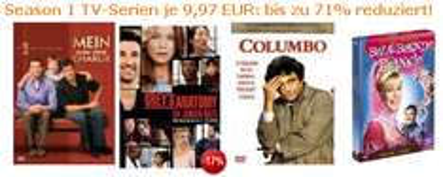 Season 1 TV-Serien für je 10€ bei Amazon