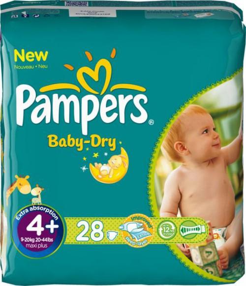 Super: 248 Pampers Baby Dry Größe 4+ um 49,99 € - 34% Ersparnis