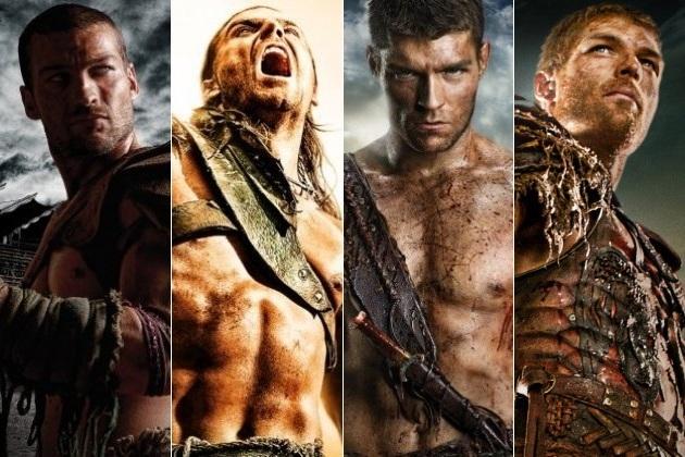 Spartacus Serie alle Stafeln als Blu-Ray für 54,38 € bei Amazon - 33% Ersparnis