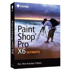 Bildbearbeitungssoftware Corel PaintShop Pro X6 Ultimate Win für 49,90 € - 19% Ersparnis