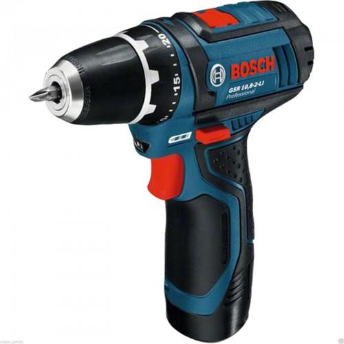 Bosch Akkuschrauber GSR 10,8-2-LI blau + 2. Akku + L-BOXX-Einlage ab 99,90 € - 25% Ersparnis