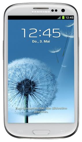 Für Grenzgänger: Samsung Galaxy S3 (16 GB, Android 4.0.4, weiß) um 164 € - bis zu 35% sparen