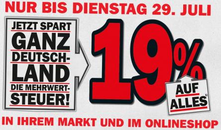 Top! Media Markt Deutschland - 19% vom Verkaufspreis sparen