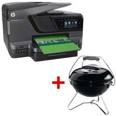HP Officejet 8600 + Weber Smokey Joe Grill um 170,98 € - 34% Ersparnis