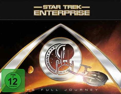 Star Trek: Enterprise - The full Journey Boxset (4 Staffeln) DVD um 55 € - 15% Ersparnis