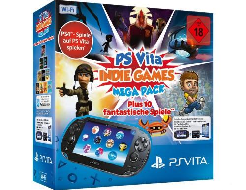 """Sony PlayStation Vita (WiFi) inkl """"Indie Bundle"""" um 155 € - bis zu 27% sparen"""